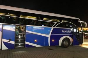 アクサライからギョレメ行きのバス
