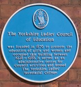 The Yorkshire Ladies Council of Education