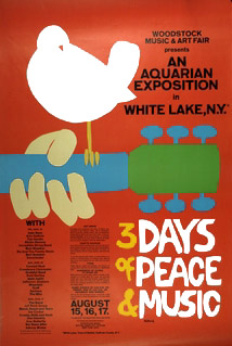 Woodstock 1969 Posteri