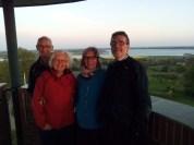 My danish and spanish family in Munkebo bakke