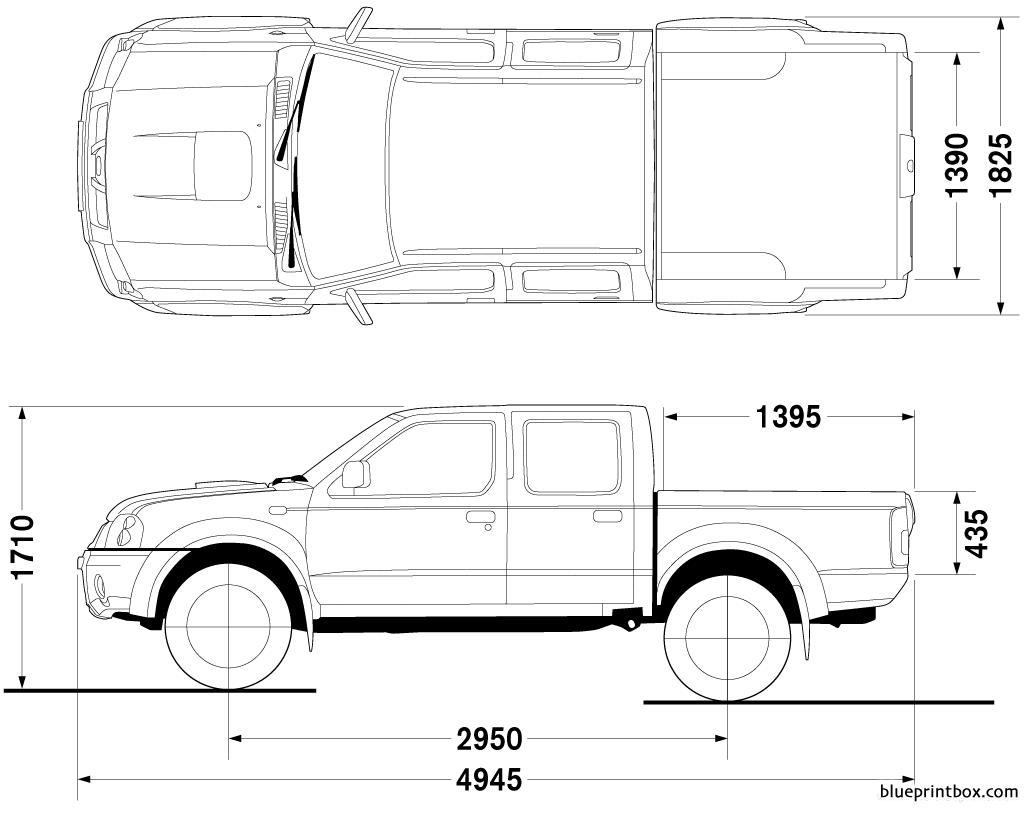 Nissan Frontier Double Cab 4x4 Look