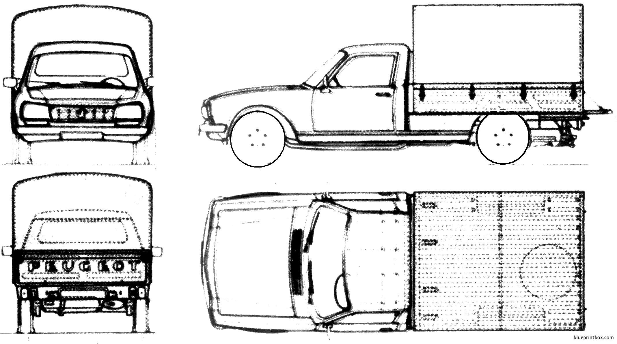 Peugeot 504 Cammionette