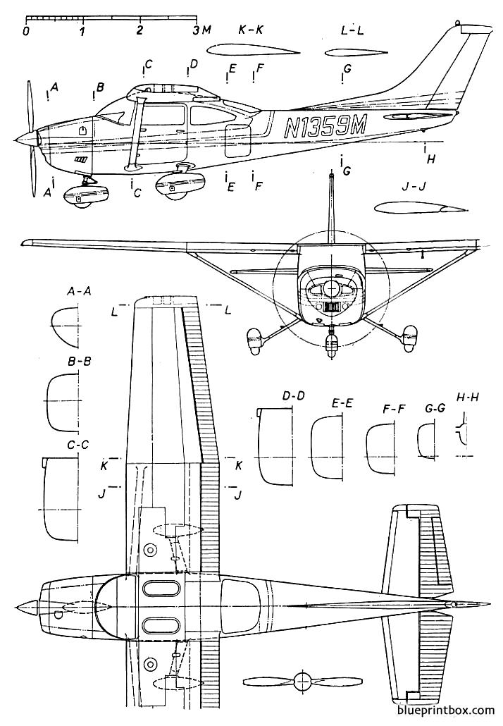 parts of a plane diagram