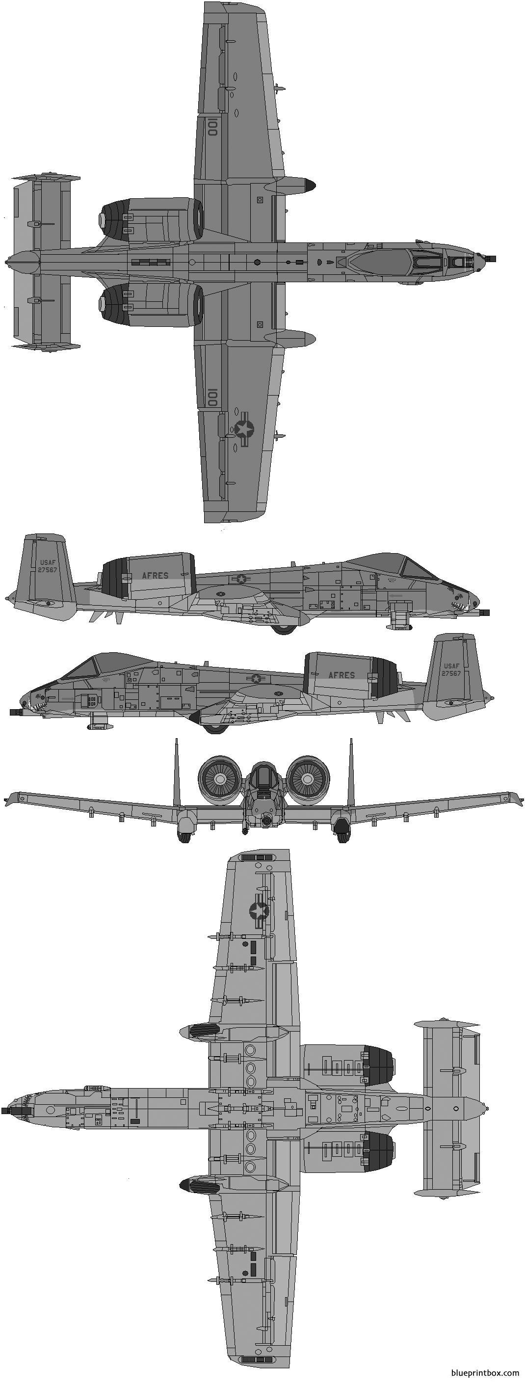 Fairchild Republic A 10 Thunderbolt Ii 02