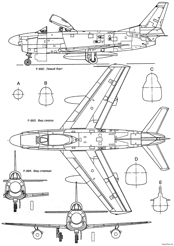North American F 86 Sabre 2