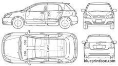 Toyota Corolla Blueprint