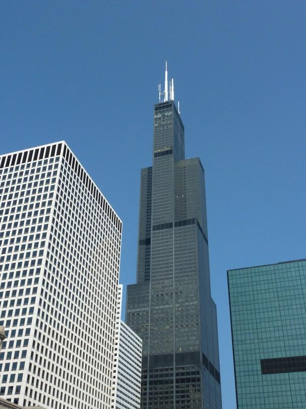 Willis Tower Blueprint Chicago