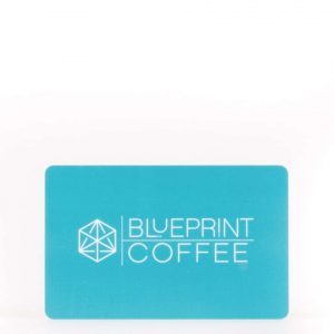 A gift card for the Blueprint Coffee physical locations in St. Louis.