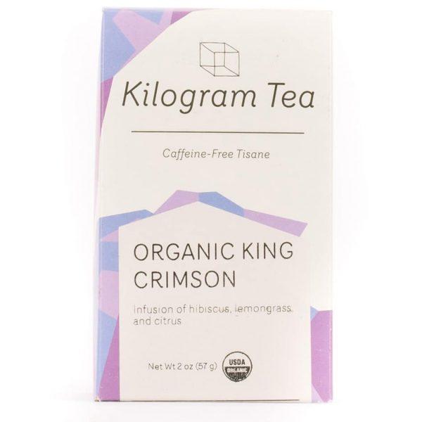 Organic King Crimson Loose Leaf Herbal Tea from Kilogram Tea