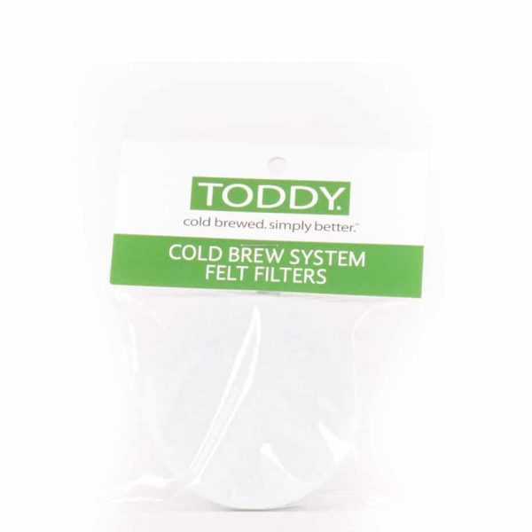 Toddy System Felt Filter pads - pack of 2.
