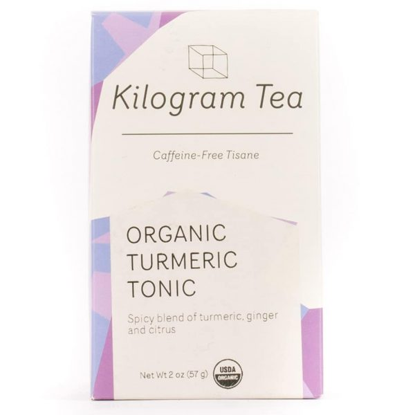 Organic Turmeric Tonic Herbal Tea from Kilogram Tea.