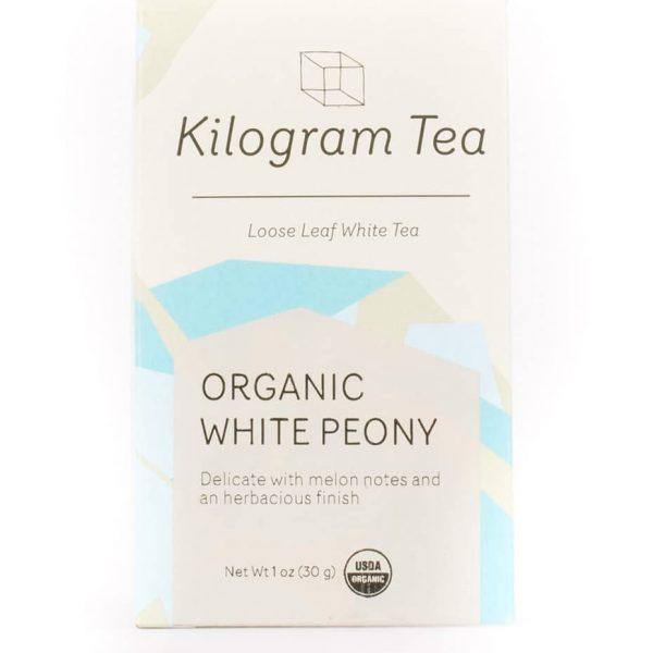 Organic White Peony White Loose Leaf Tea from Kilogram Tea.