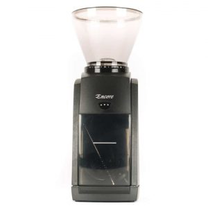 The Baratza Encore burr grinder.