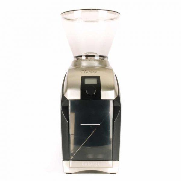 The Baratza Virtuoso Plus coffee grinder.