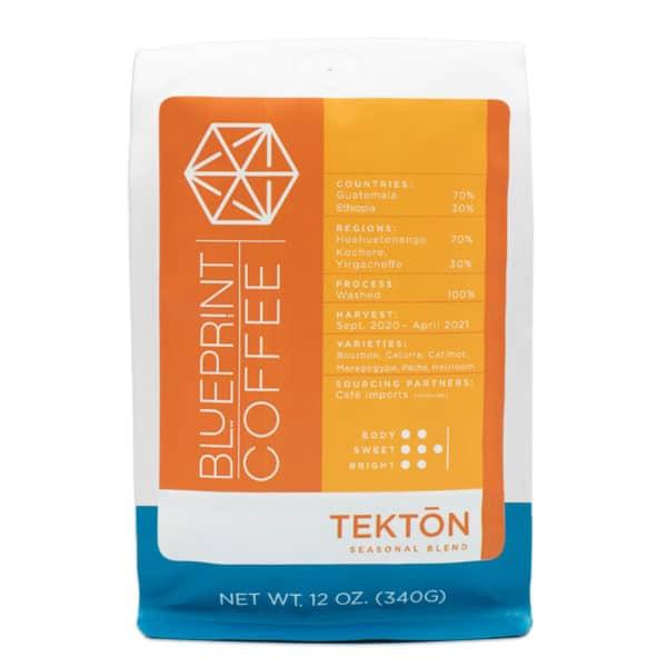 Tektōn Seasonal Blend Coffee from Blueprint.