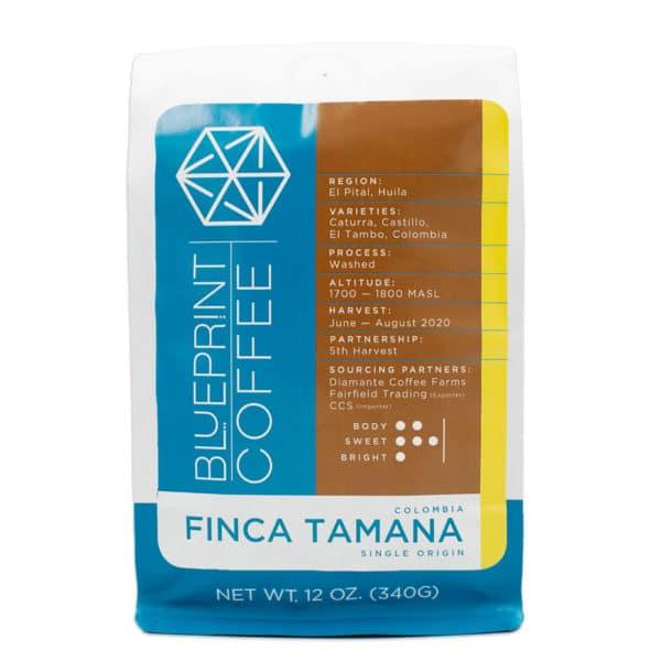 Finca Tamana Colombia single origin coffee from Blueprint Coffee.