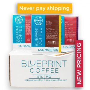 The single origin coffee sampler subscription box.
