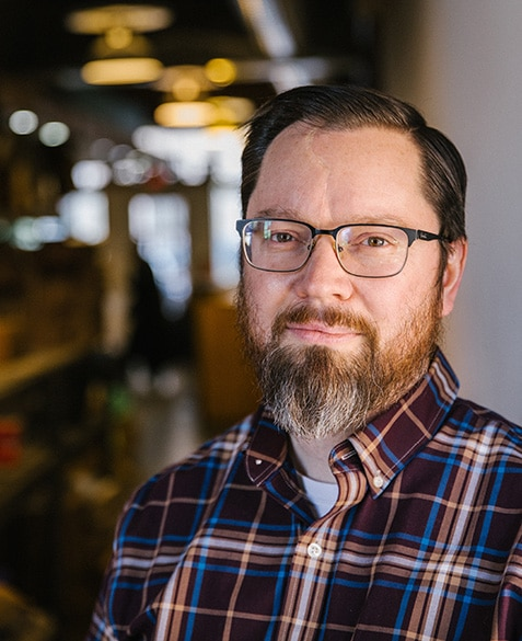 Andrew Timko is a founding member of Blueprint Coffee in St. Louis, Missouri.