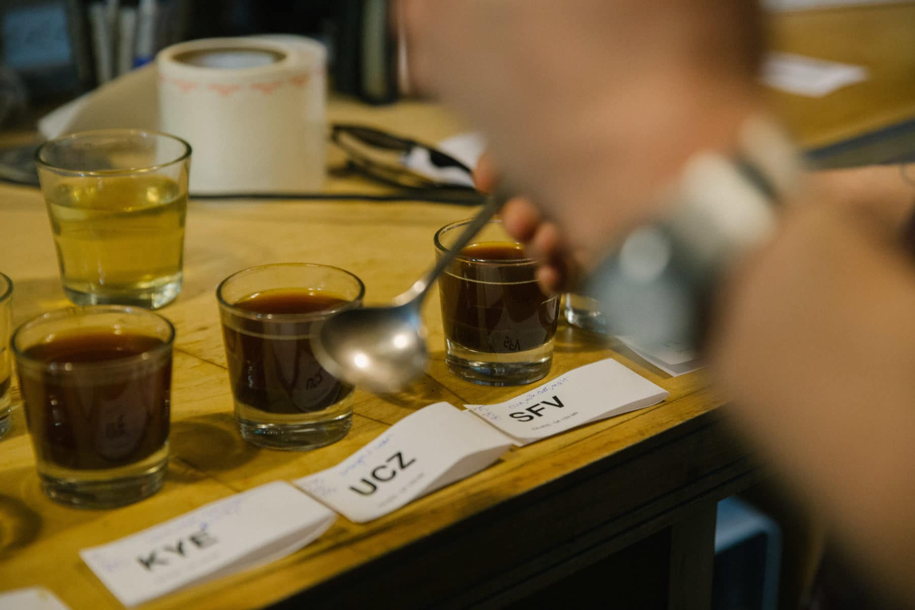 Cupping is a certified, worldwide method for evaluating coffee.