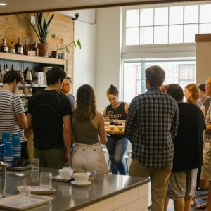 The Seed to Cupping Coffee Class introduces coffee as a process.