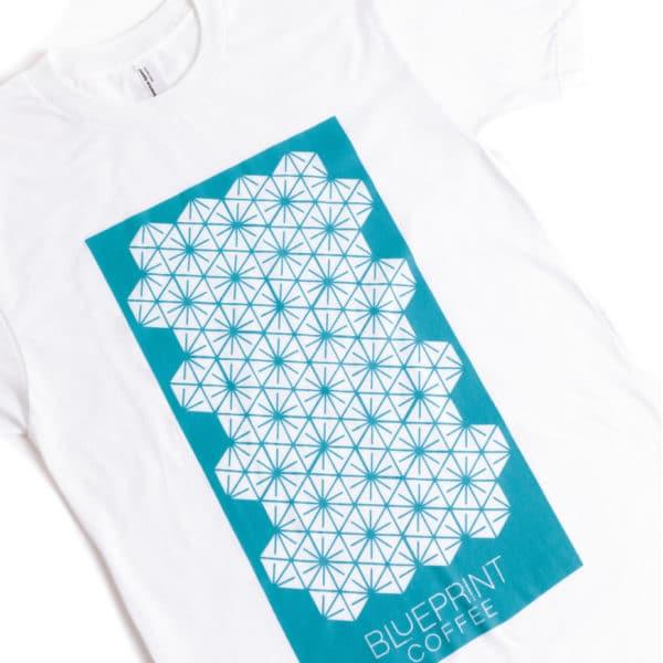The Blueprint Logo Pattern t-shirt.