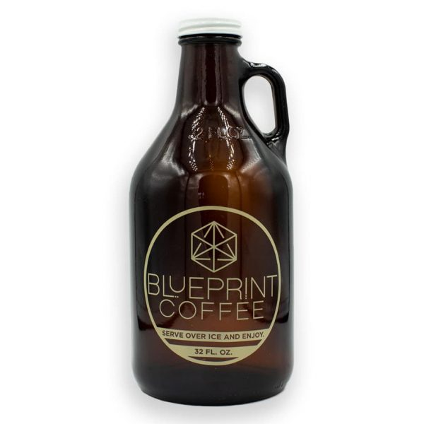 Blueprint Coffee Cold Brew Growler.