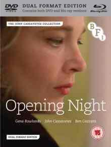 Opening Night BluRay cover