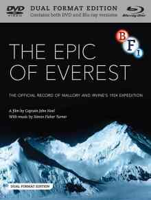 Epic of Everest DVD Blu Ray cover