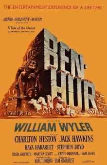 Ben-Hur (1959) original poster art