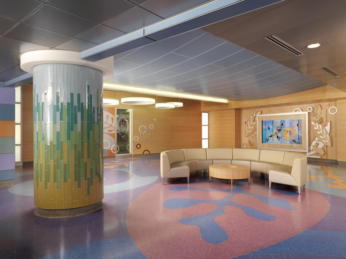UF Health Shands Children's Hospital Sebastian Ferrero Atrium