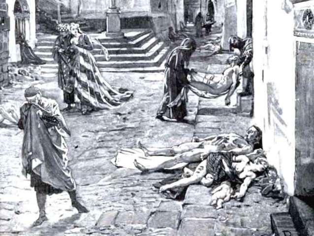 Dark Ages: Ignorance, superstition, the black death.