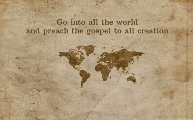 The Great Commission.