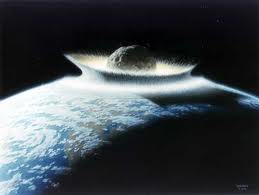 A comet killed... with a global flood!