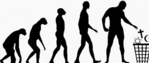 Evolutionary biologists have accepted an unproven and falsified theory. The only other alternative is God.