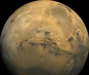 Poor lonely, lifeless Mars.