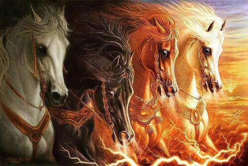 the 4 horses
