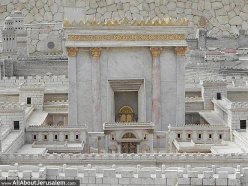 The second temple.