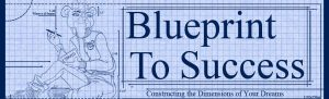 Blueprint To Success Mascot Bear during construction