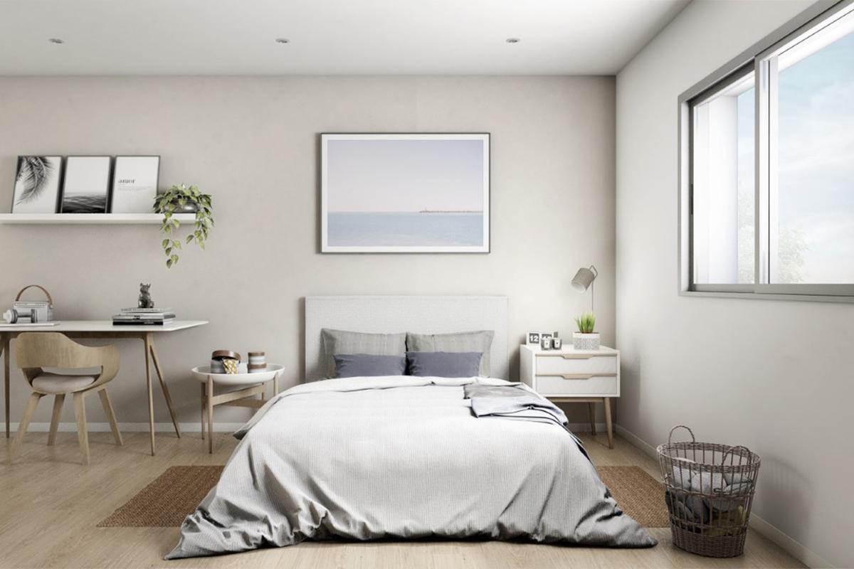 dormitorio apartamento vilanova bluelux