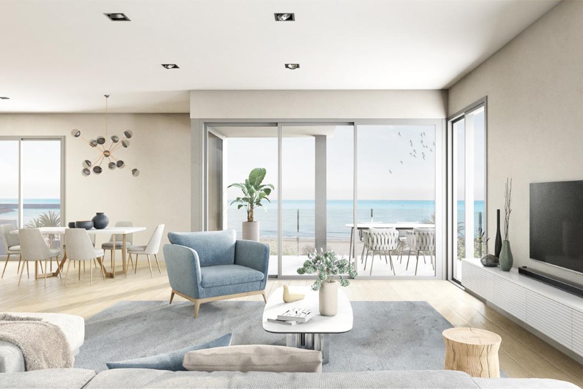 salon apartamento vilanova bluelux