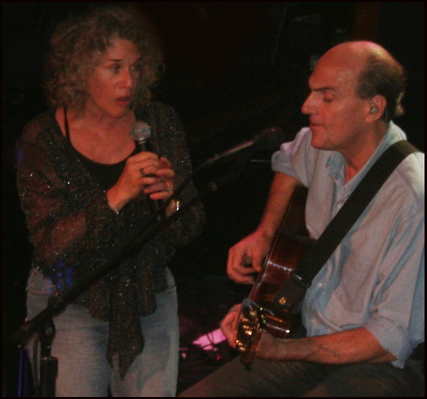 James & Carole King Playing An Encore at the Troubadour Anniversary Show, West Hollywood, 11.30.2007.