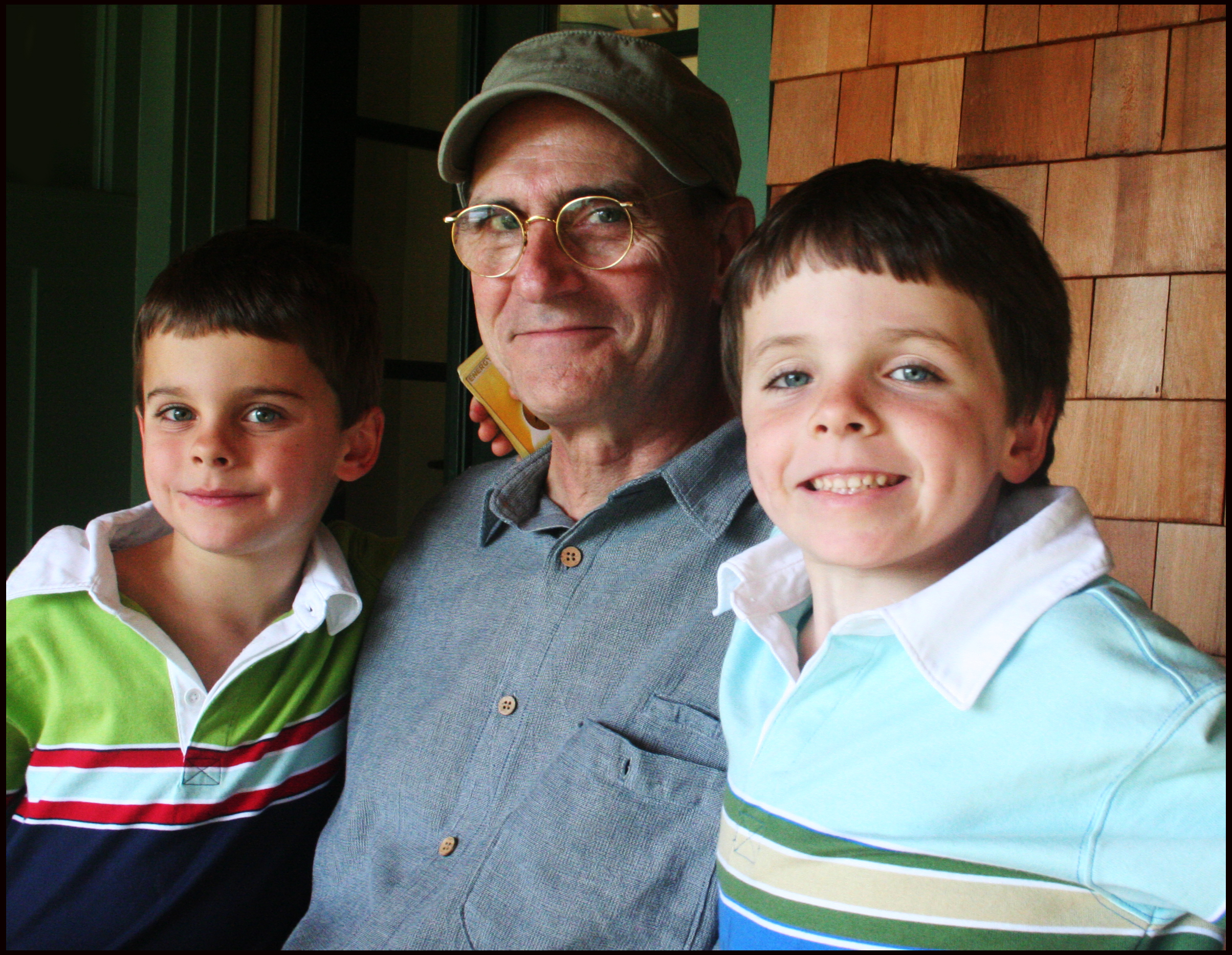 Father & Sons: JT With Rufus & Henry