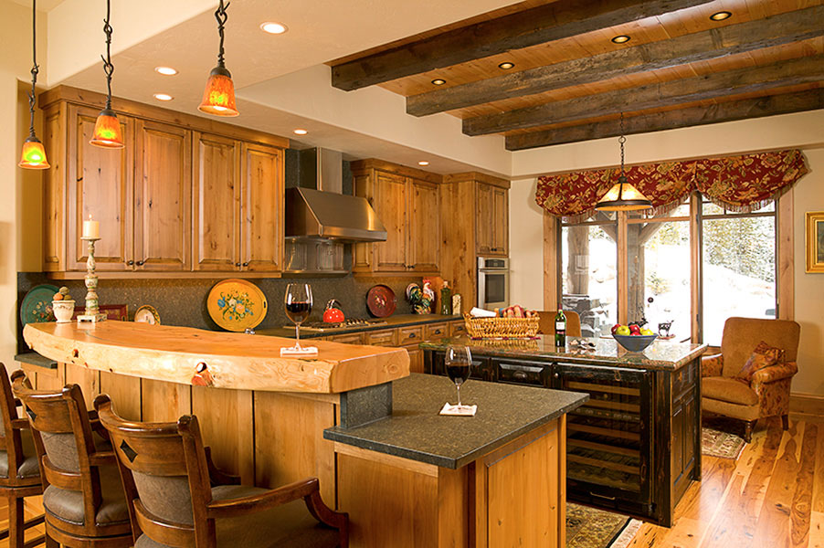 summit kitchens tile kitchen countertop and dining rooms for luxury mountain homesblue ribbon builders