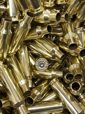 Polished 6.5 creedmoor reloading brass