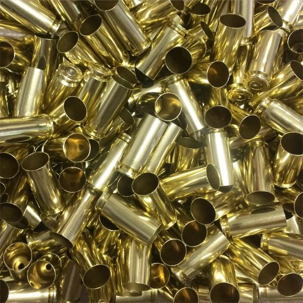 polished 10mm reloading brass