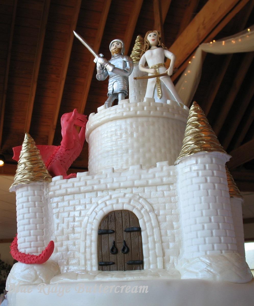 Square Wedding Cakes Blue Ridge Buttercream