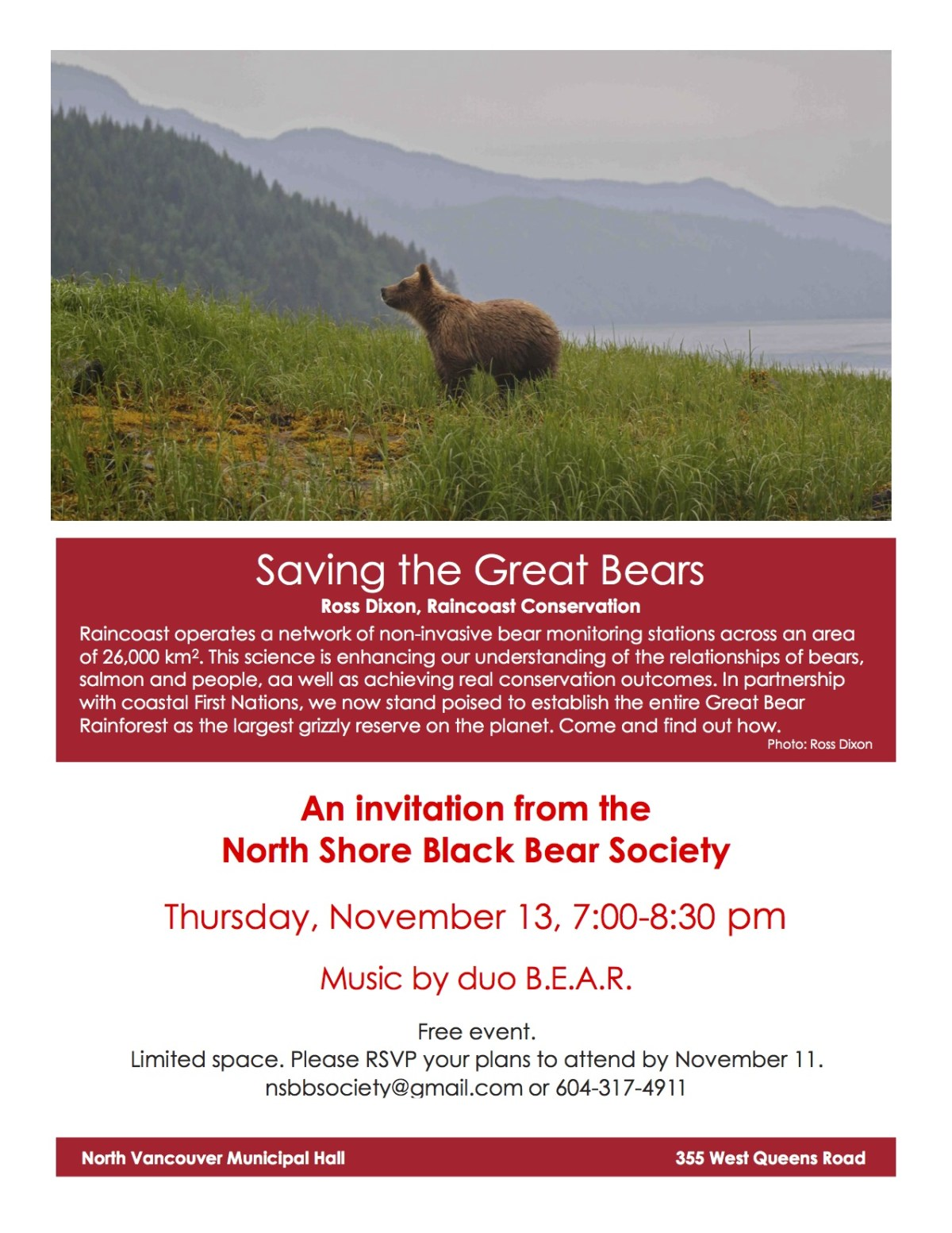 saving the great bears
