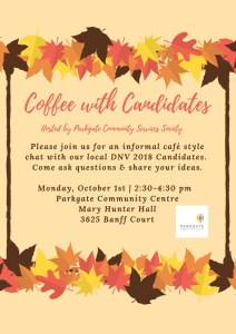 Coffee with Candidates