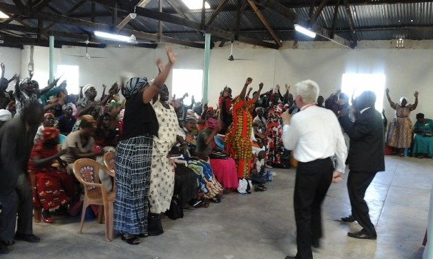 Reverend George Patton Jr preaches revivals