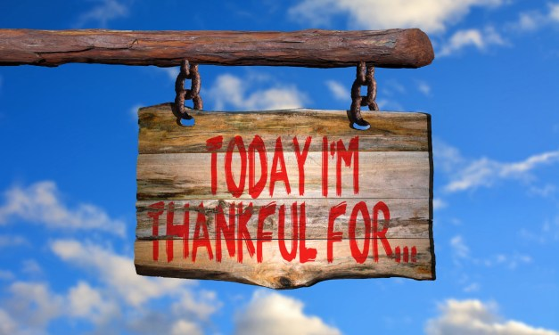 Being Thankful…A Thing of the Past? By Chris Rathbone